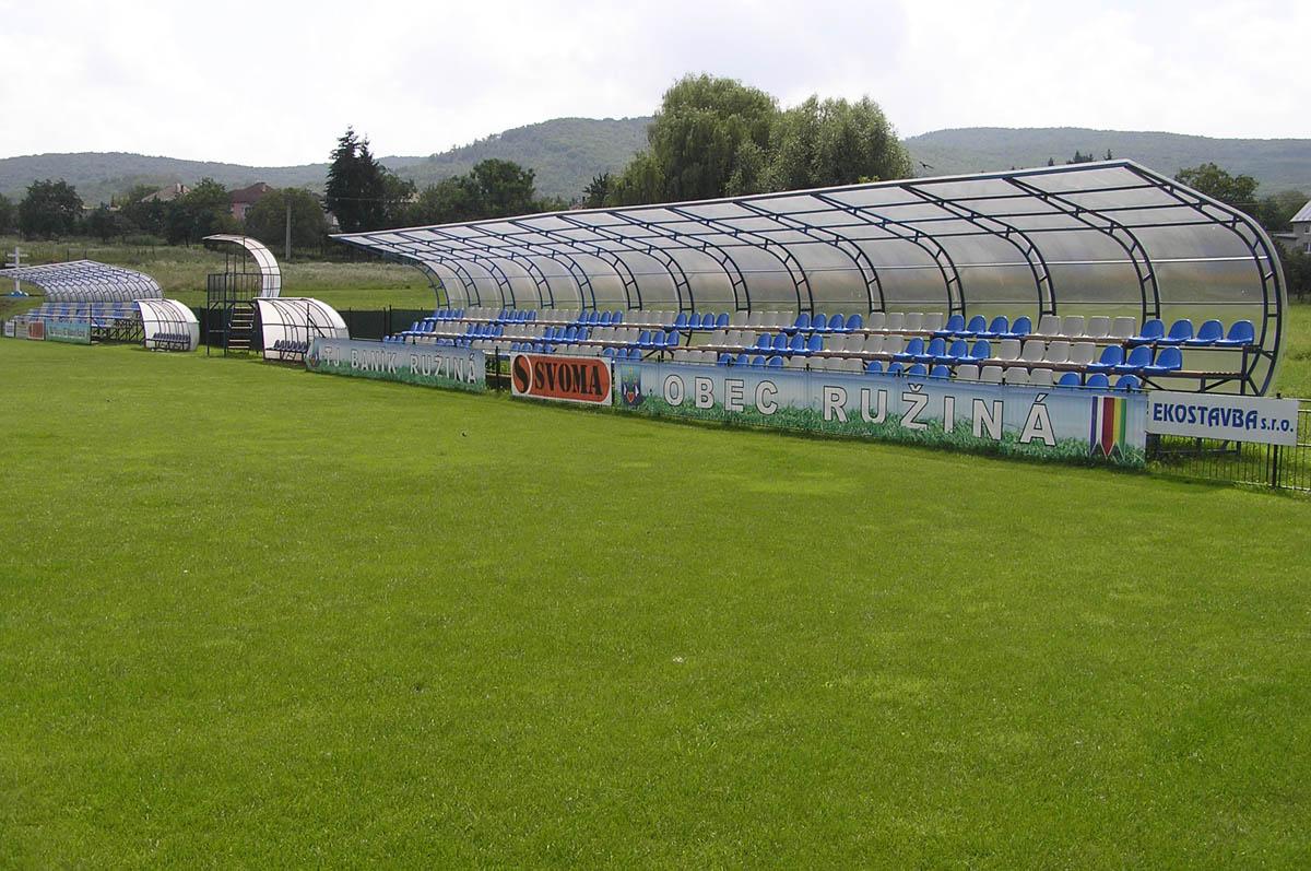 Rekonštrukcia športového areálu v obci Ružiná