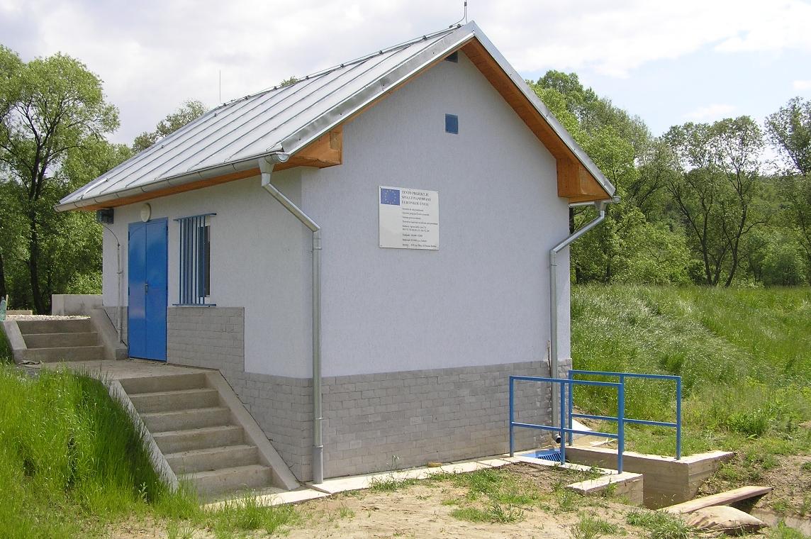Kalinovo - úprava Ipľa - Prečerpávacia stanica